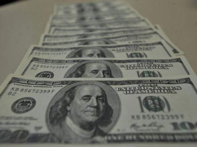 Dólar comercial registrou baixa de 0,26% (Foto: Agência Brasil)