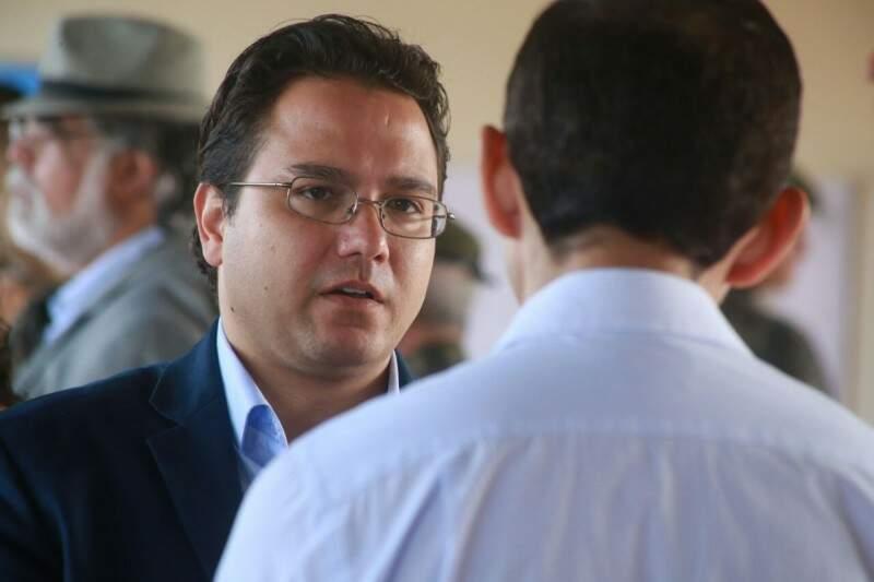 Pedro Pedrossian Neto falou sobre os pagamentos da prefeitura neste início de gestão (Foto: Marcos Ermínio)