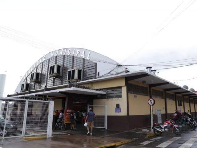 Mercado Municipal de Campo Grande, mais conhecido como Mercadão. (Foto: Kísie Ainoã)