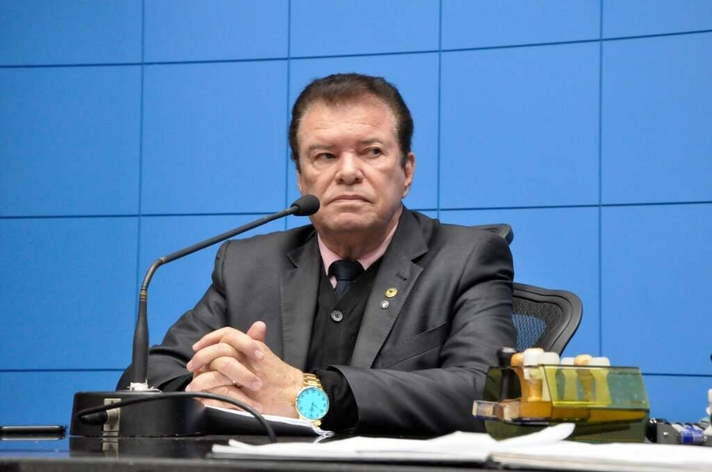 Deputado Maurício Picarelli (PSDB) apresentou projeto na Assembleia (Foto: Luciana Nassar/ALMS)