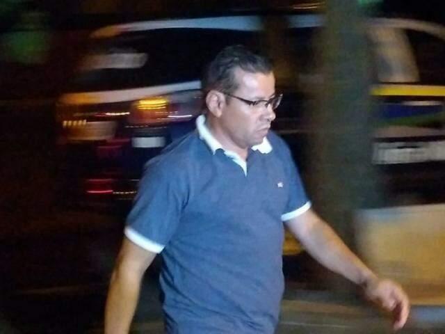 Pedro Pepa, no dia em que foi preso, em dezembro; Câmara negou pagamento de salários (Foto: Adilson Domingos)