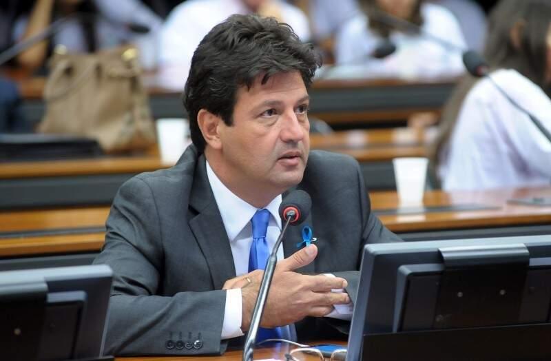 Luiz Henrique Mandetta diz que renúncia de Temer precisa ser imediata (Foto: Agência Câmara)