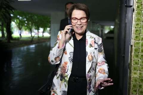 Tereza Cristina tem encontro com Bolsonaro e almoço com deputados