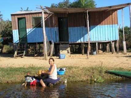 Pesquisadora da Nova Zelândia estuda realidade dos ribeirinhos do São Lourenço