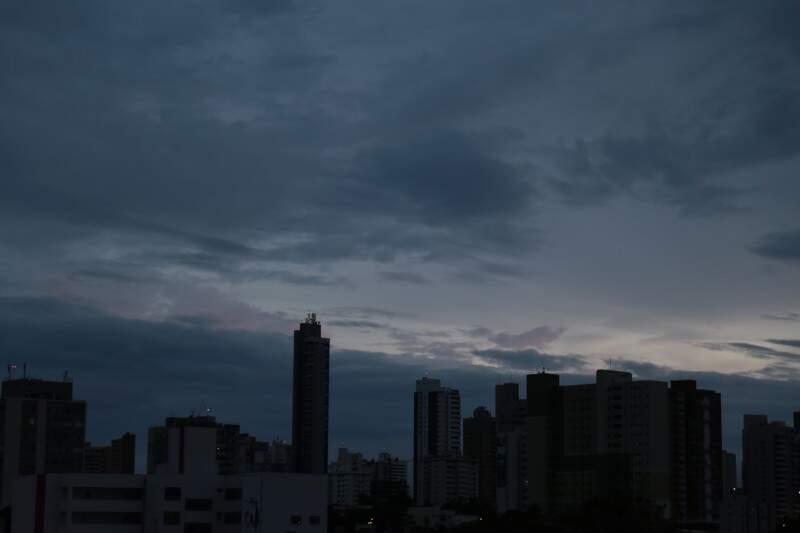 Em Campo Grande, choveu 17 milímetros em sete dias. (Foto: Marcos Ermínio)