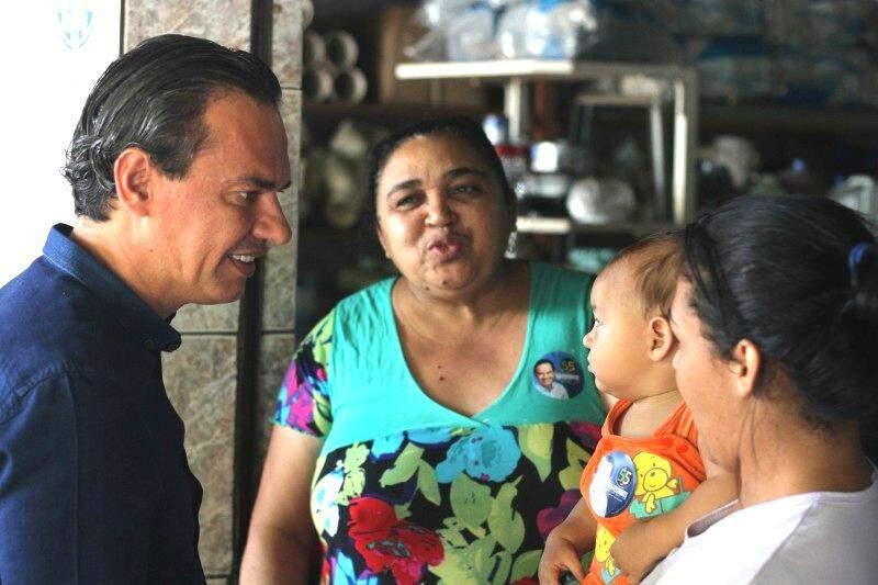 Marquinhos Trad apresentou a proposta em visita a bairros da cidade (Foto: Divulgação - Assessoria)