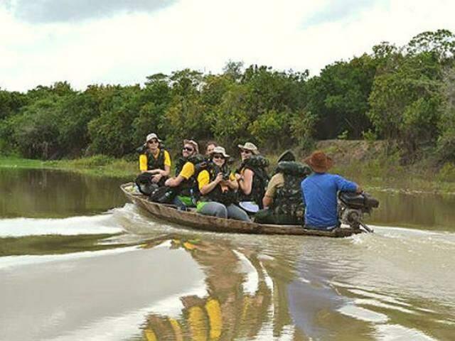 Equipes do Projeto Rondon durante atividade em MS, no ano de 2011 (Foto: Projeto Rondon)