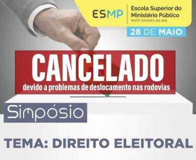 Com greve, Ministério Público cancela seminário sobre Direito Eleitoral