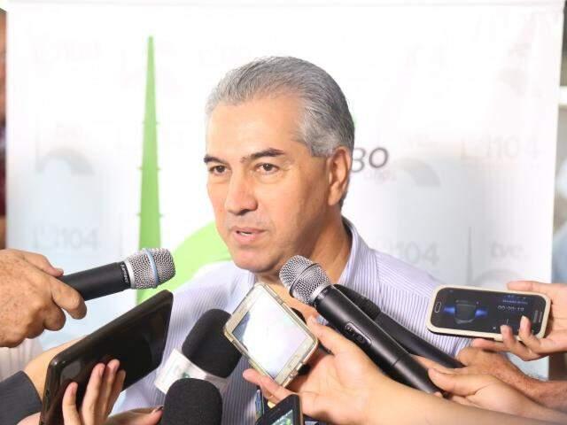 Reinaldo tem tentado na Justiça, mudar o juros da dívida com a União. (Foto: Fernando Antunes)