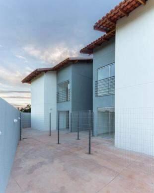 No térreo, projeto ainda tem varanda externa. (Foto: Divulgação)