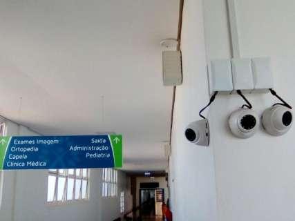 Hospital Regional instala 132 câmeras para monitorar acesso de visitantes