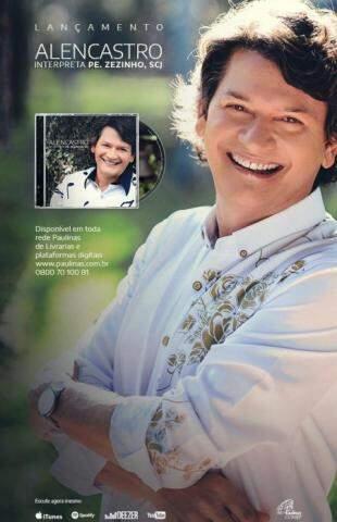"""""""É uma honra interpretar os grandes sucessos de Padre Zezinho"""", diz o cantor. (Foto: Divulgação)"""