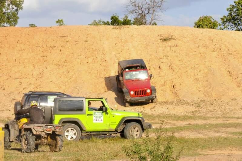 Mais um evento Jeep Mania acontece em Campo Grande