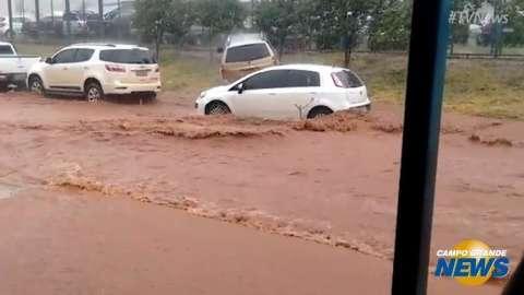 Chuva continua provocando problemas diários em Ponta Porã, diz Defesa Civil