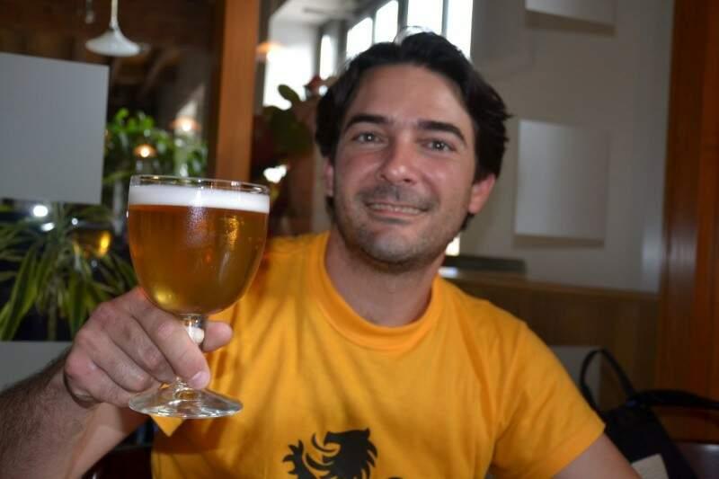 Felipe Viana é dono da Cervejaria Taberna do Vale, em Belo Horizonte (MG). (Foto: Divulgação)