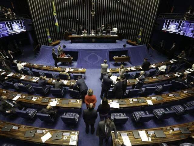 Devido à crise gerada com a greve dos caminhoneiros, que já dura oito dias, os parlamentares imprimiram um ritmo acelerado de votações das MPs, e a maioria foi aprovada de forma simbólica. (Foto: Fabio Rodrigues Pozzebom/Agência Brasil)