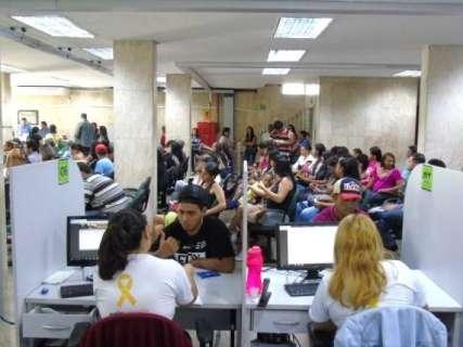 Semana termina com acumulado de 231 vagas na Fundação do Trabalho