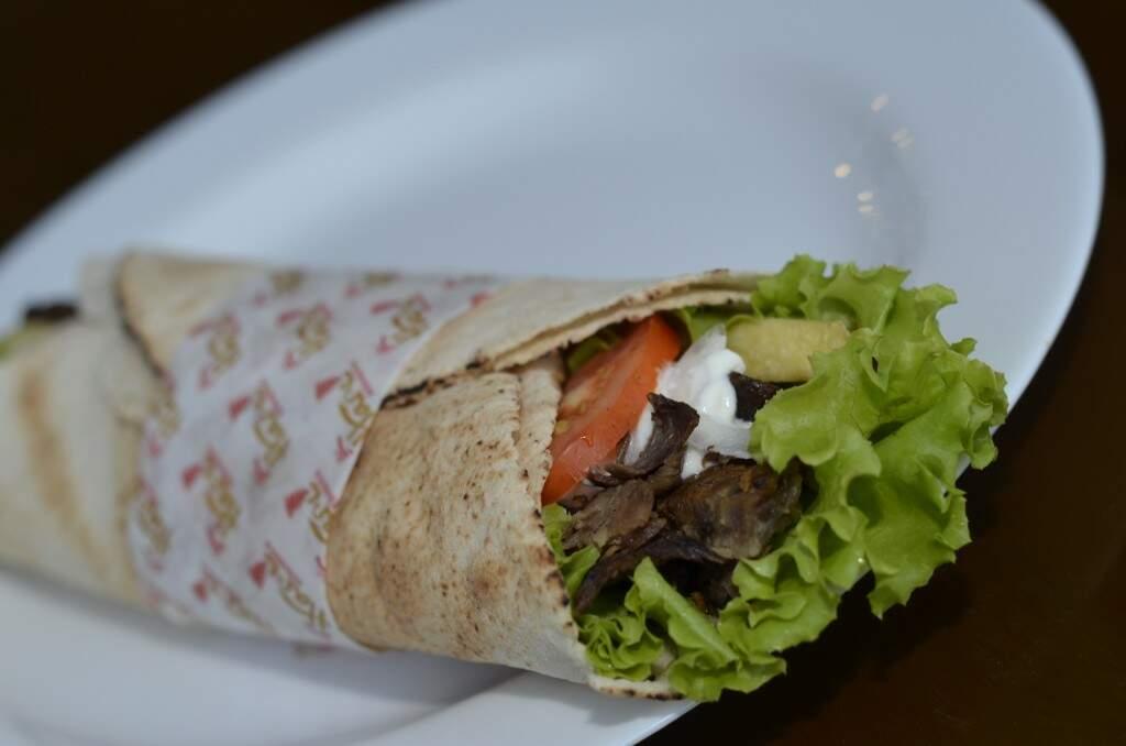 Kebab de Carne. (Foto: Divulgação)