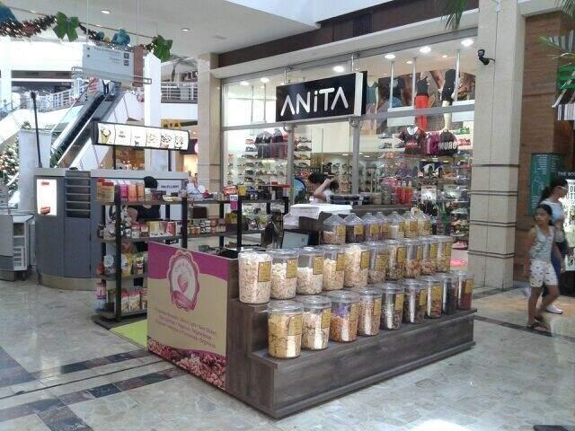 Quiosque, no primeiro piso do Shopping Campo Grande, é opção saudável no fim de semana. (Foto: Divulgação).