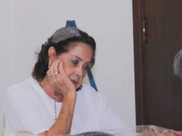 """""""Durante 42 anos convivi com um homem muito especial"""", disse Suely Brandão (Foto: Marcos Maluf)"""