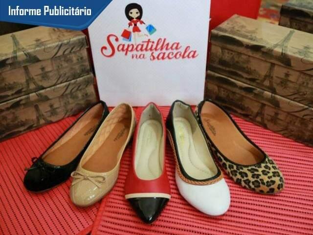 São mais de 40 modelos da Sapatilhas na Sacola. (Foto: Alcides Neto)