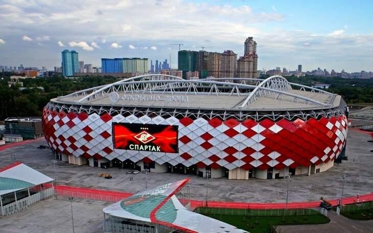 Estádio do Spartak de Moscou vai receber cinco jogos, incluindo um nas Oitavas de Final (Foto: Divulgação)