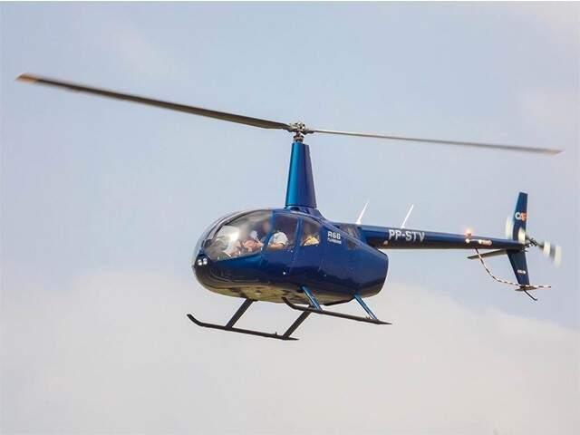 Helicóptero apreendido pode ser utilizado pela segurança pública de MS.