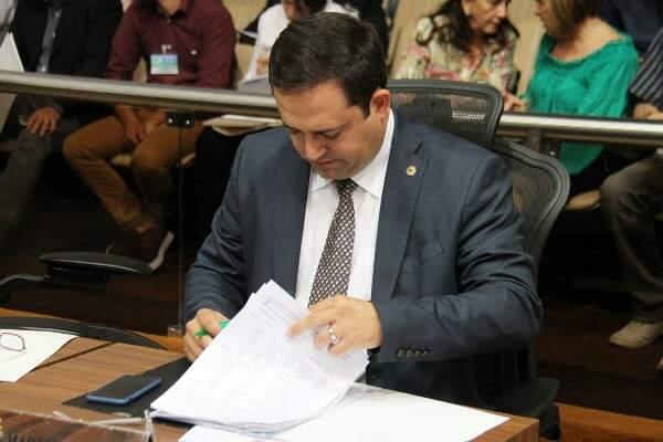 Deputado Márcio Fernandes é o autor da lei estadual, sancionada hoje pelo governador (Foto: Assessoria/ALMS)