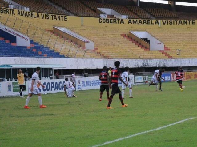 Novo eliminou o Águia Negra nas quartas de final do Campeonato Estadual (Foto: Paulo Francis/Arquivo)