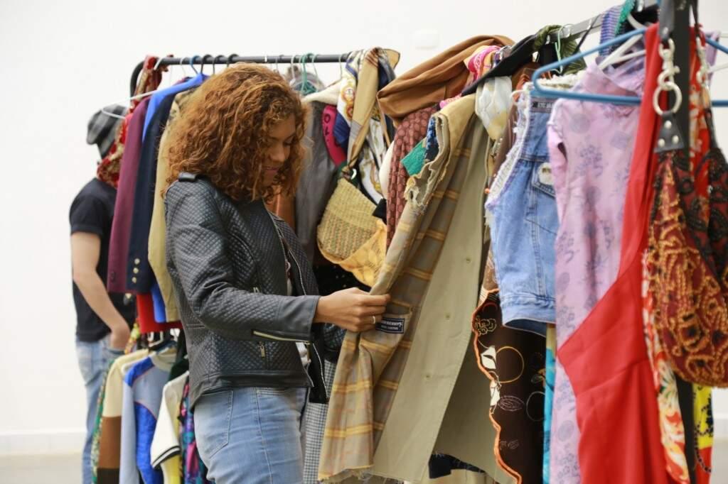 Movimento que discute e repensa a moda foi realizado em Campo Grande pela primeira vez. (Foto: Marcos Ermínio)
