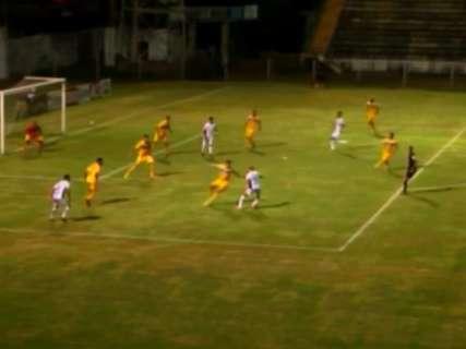 Corumbaense perde por 2 a 0 para os visitantes do Iporá no Arthur Marinho