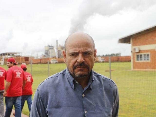 Líder do MSTB em MS está preso em Dourados acusado de uma série de crimes por resistir a despejo (Foto: Helio de Freitas)