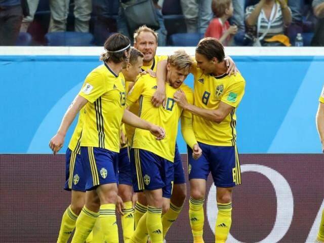 Suecos avançaram para as quartas (Foto: Fifa)