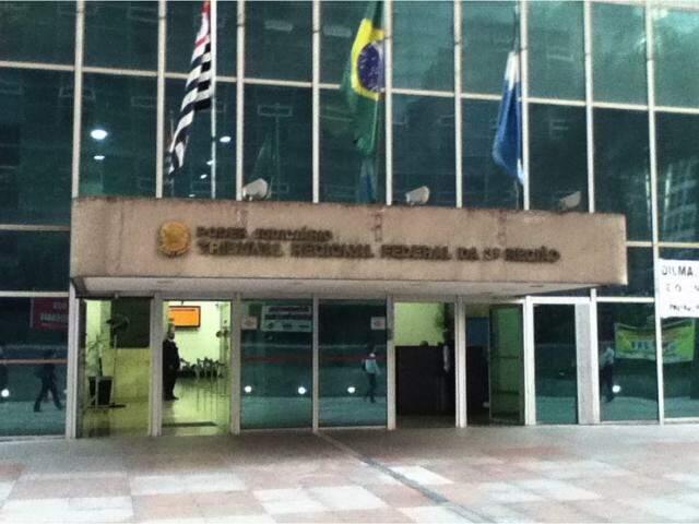 Fachada do TRF em São Paulo. (Foto: Reprodução)