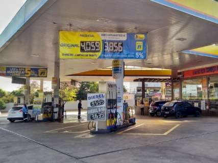 Preço da gasolina mais cara em Campo Grande bate o recorde do ano