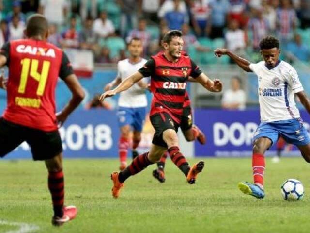 Registro do jogo, desta noite. (Foto: BahiaFC)