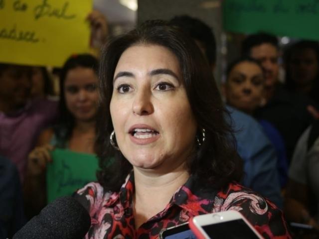 Na semana passada, Simone antecipou acordo entre PSDB e MDB que resultou em sua indicação para a comissão. (Foto: Paulo Francis/Arquivo)