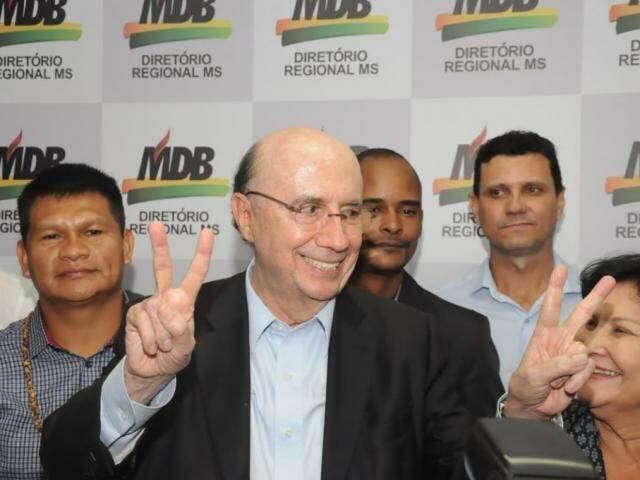 Meirelles afirmou em Campo Grande acreditar que, com a campanha, divulgação de sua biografia ajudará na obtenção de votos (Fotos: Paulo Francis)
