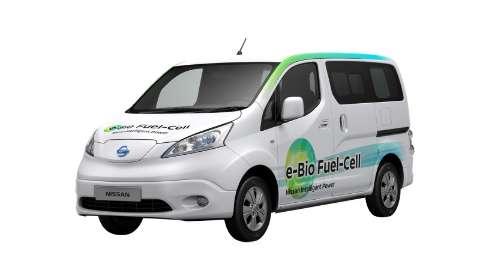 Nissan mostra veículo elétrico movido a célula de combustível de bioetanol