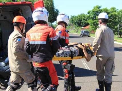 Estado de saúde de andarilho atropelado é considerado estável