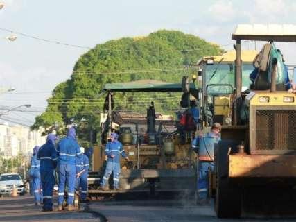 Obras de recapeamento abrangem 10,9 km nos Altos do São Francisco