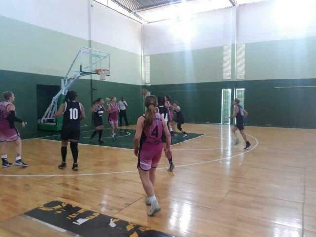 Equipe da Abaf-MS, durante competição (Foto: Divulgação/Abaf-MS)