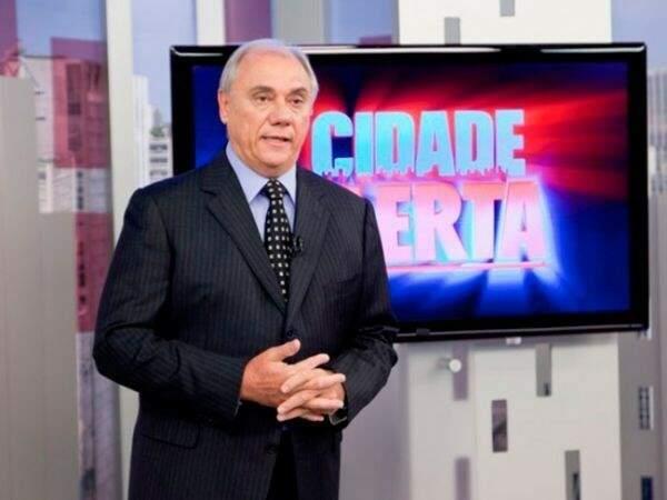 Marcelo Rezende, do Cidade Alerta: jornalismo é o que atrai telespectador na Record