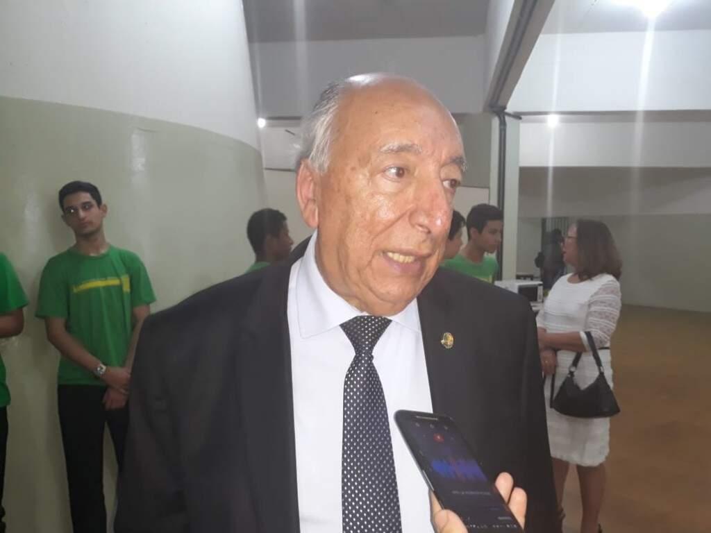 Pedro Chaves disse que tem conhecimento para trazer investimentos o Estado todo. (Foto: Mayara Bueno)