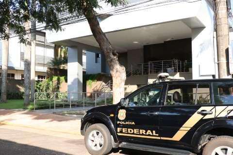 Polícia Federal cumpre mandados em MS contra corrupção no Sistema S