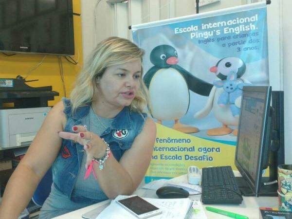 Diretora da escola, Giedre Costa. (Foto: Christiane Reis)