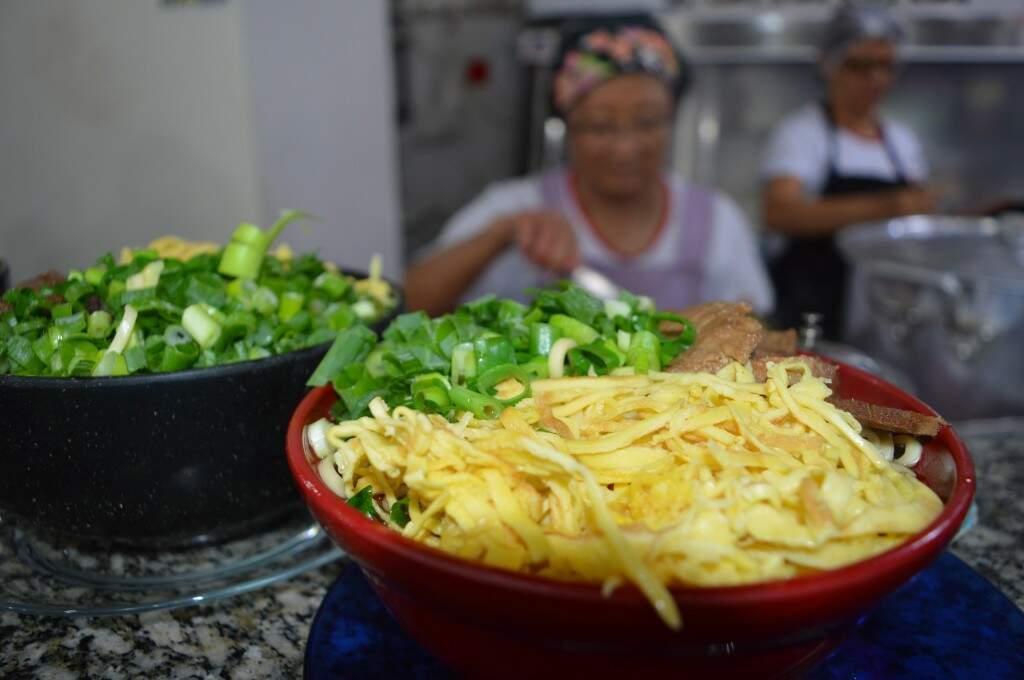 Prato típico de Campo Grande este ano ganha nova versão vegetariana. (Foto: Willian Leite)
