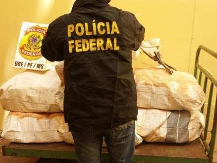 Polícia Federal apreende carga de cocaína avaliada em R$ 4 milhões