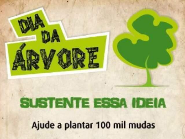Semana da Árvore começa em Campo Grande com a meta de plantar 100 mil mudas (Foto: Reprodução)