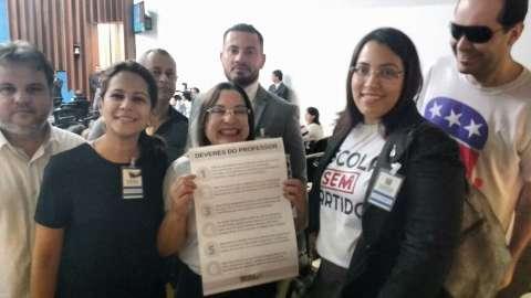 """Programa """"Escola Sem Partido"""" é apresentado na Assembleia Legislativa"""